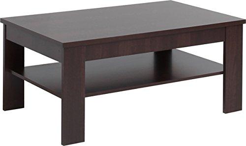 Mesa de centro mesa de centro de 16857 wengué con bandeja: Amazon ...