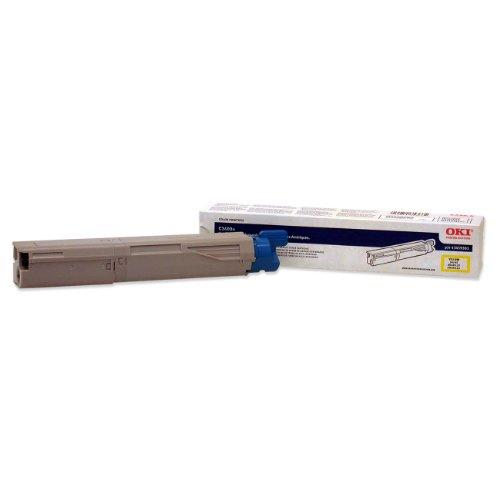 Okidata Yellow Toner Cartridge 2K for C3400 Series, Office Central