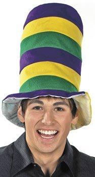 Felt Mardi Gras Stovepipe Hat -