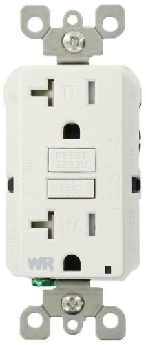 Leviton WT899 W Weather Resistant Tamper Resistant Receptacle