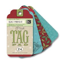 Pad & K Company Tag (Christmas Cheer Tag Pad)