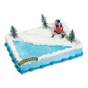 Pms Cake Decorating Kit : Amazon.com: Snowmobile Cake Topper Decorating Kit: Kitchen ...