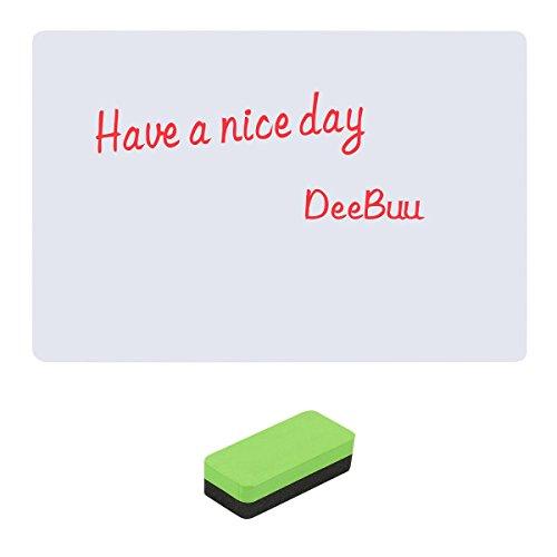 WhiteBoard Sticker,DeeBuu Magnetic Peel Dry Erase Board for
