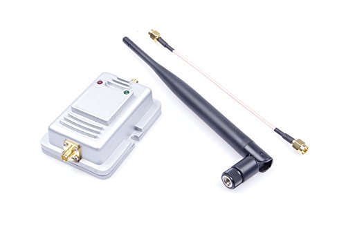 Broadband Amplifier Signal (Indoor WIFI Booster 2W Wifi Wireless Broadband Amplifier Router 2.4Ghz Power Range Signal Booster)