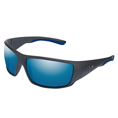 HUK Spearpoint Polarized Sunglasses, 100% UV Ray Protection, Performance Fishing Eyewear