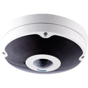 Geovision GV-FER12203 12MP H.264 Low Lux Fisheye Rugged IP Camera (White) by GeoVision