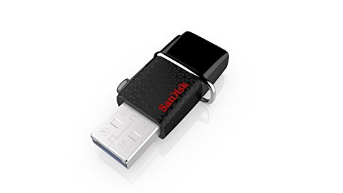 SanDisk Ultra 64GB USB 3.0 OTG Flash Drive With micro USB connector For Android Mobile Devices(SDDD2-064G-G46) (Sandisk 64gb Micro Flash Drive)
