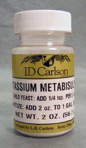 Métabisulfite de potassium - 2 oz.