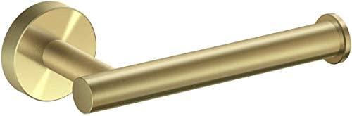 Kytwn Papierhandtuchhalter, Geeignet for Badezimmer, Open Arm Wand-Edelstahl-Badezimmer-Hardware