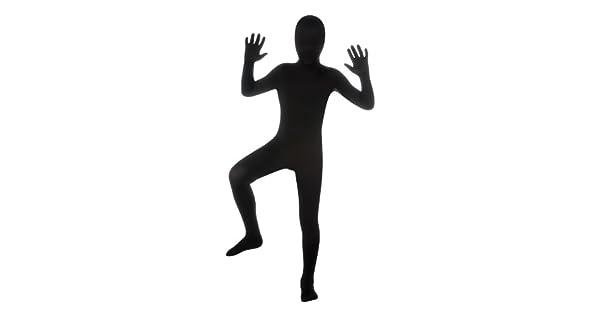 Amazon.com: Disfraz de segunda piel, color negro, para ...