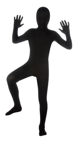 Child's Black Second Skin Suit, (One Piece Costumes For Sale)
