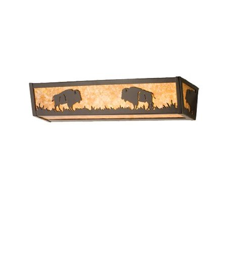 "Meyda Lighting 67747 36""W Buffalo Vanity Light"
