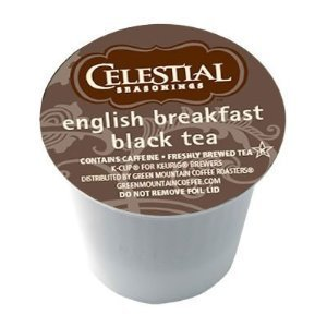 Celestial Seasonings English Breakfast Black Tea Keurig 120 K-Cups by Celestial Seasonings
