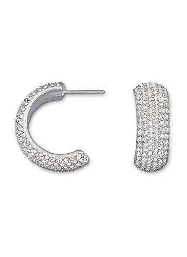 Swarovski Palace Wide Pierced Earrings by Swarovski