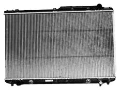 TYC 1746 Toyota/Lexus 1-Row Plastic Aluminum Replacement Radiator ()