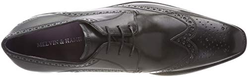 Modica MADE Black MELVIN Crust amp; Black MH Modica Herren SHOES Lance Crust Black Schwarz Black CLASS OF Derbys 2 HAND HAMILTON xIBZrOIq