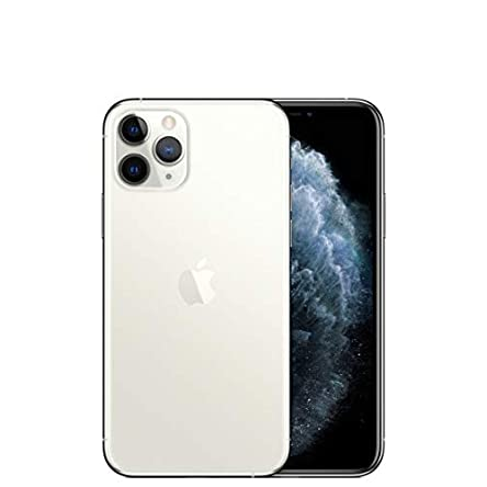 Apple iPhone 11 Pro Max (64GB, Silver) for Verizon (Renewed)