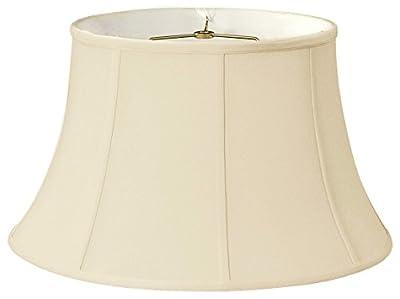 Royal Designs Shallow Drum Bell Billiotte Lamp Shade - Beige - 13 x 19 x 11.25