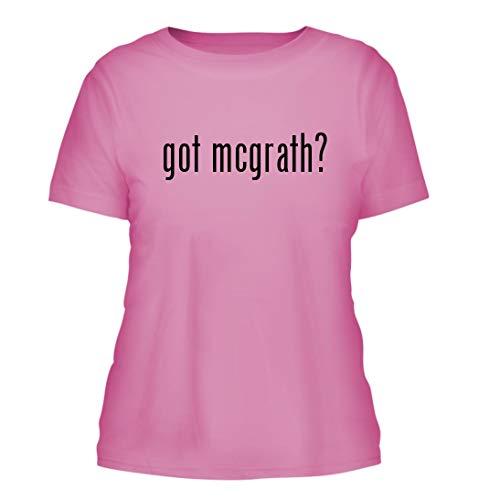 got mcgrath? - A Nice Misses Cut Women's Short Sleeve T-Shirt, Pink, Large (Historical T-shirt Marks)