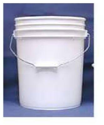 White 5 Gallon Pail - 5