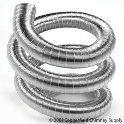 (6'' x 20' DuraFlexSS 316 Stainless Steel Chimney Liner - 6DF316-20)