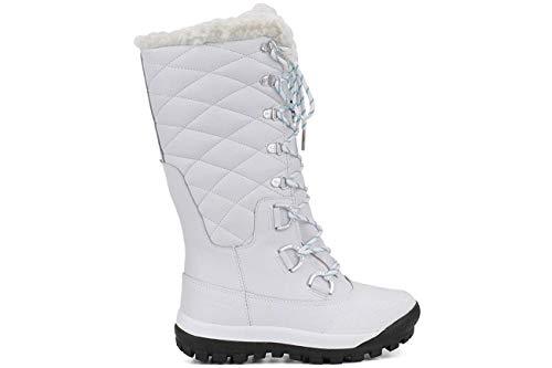 BEARPAW Women's Isabella Snow Boot, White, Size 11.0