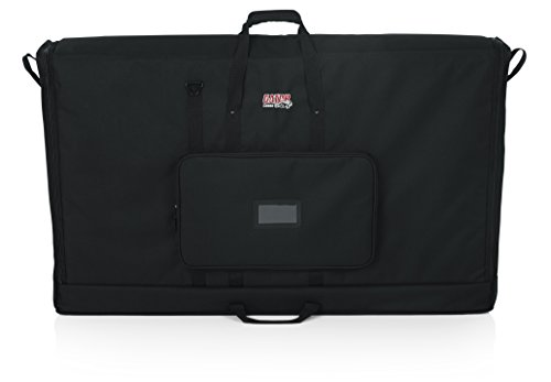 Gator Cases Padded Nylon Carry Tote Bag for Transporting LCD Screens, Monitors and TVs; Fits 50' Screens (G-LCD-TOTE50)