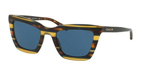 Coach Womens Sunglasses Blue/Blue Acetate - Non-Polarized - - Coach Spectacle Frames