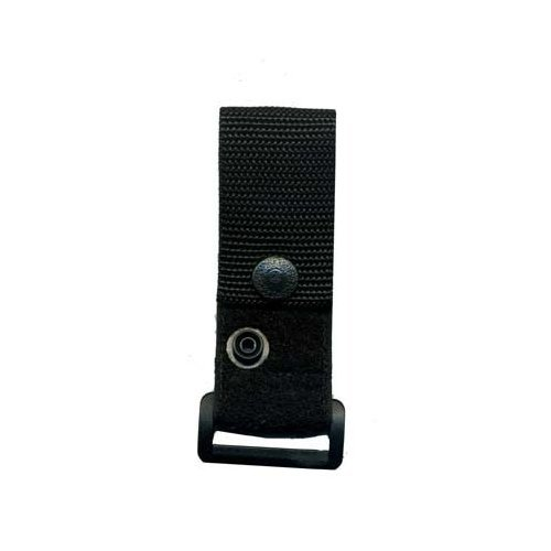 DeSantis Ambidextrous - Black - Epaulet Radio Microphone Holder