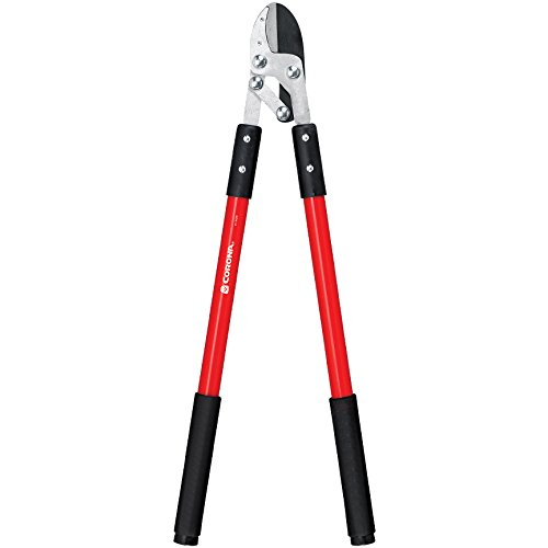Corona Compound Action Anvil Lopper, 32 Inch, FL 3420 Carbon Steel Ratchet Pruner