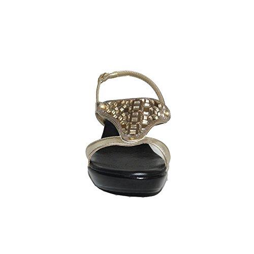 Sandalias Mediana Digo Digo con 5200 C Sandalia Cu Confort a Verano Corona a Casual Piel Cu w1Tw0q