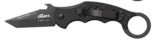 Karambit Fox 597 Dart G10 Black Emerson Wave