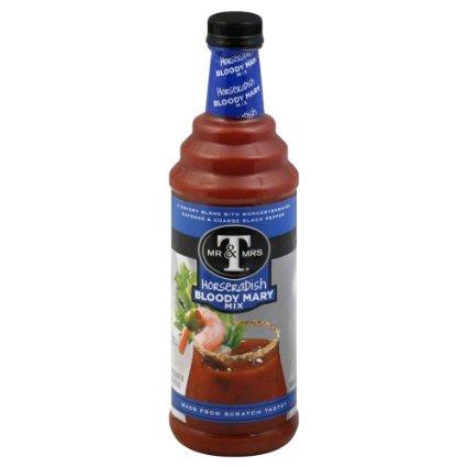 Mr. & Mrs. T Horseradish Bloody Mary Mix 33.8 Fl. Oz. - (2 (Bloody Mary Horseradish)