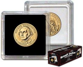 BCW 2x2 Coin Snap Holder Sacagawea/Sba/Presidential for sale  Delivered anywhere in USA