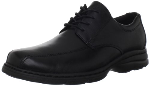 (Dunham Men's Bryce Oxford,Black Smooth,11 4E US)
