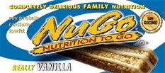 Nugo Nutrition Bar, Vanilla, 15 Count