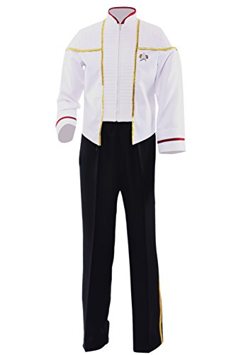 Allten Men's Costume Star Trek Insurrection Nemesis White Mess Uniform L]()