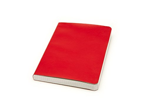 Miquelrius Soft Bound Medium Journal, 300 Sheets/600 Graph Pages, 6 x 8 (Red)