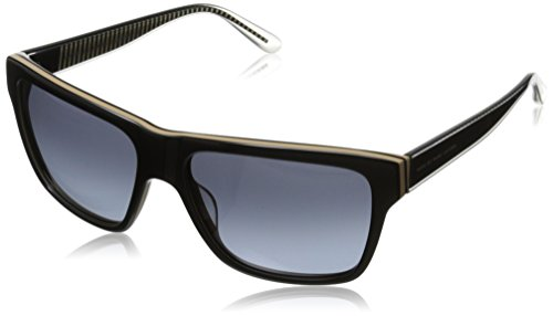 Marc by Marc Jacobs Women's Mmj380s Wayfarer Sunglasses, Black Mud, 56 mm