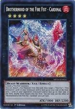 Yu-Gi-Oh! - x2 Brotherhood of the Fire Fist - Cardinal - MP14-EN031 - SECRET RARE 1st Edition - Mega Tin