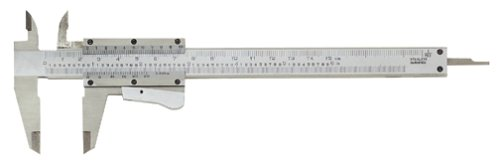 General Tools MG6001DC Precision Vernier Caliper, 6-Inches -