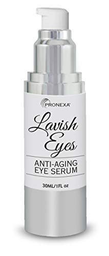 313FYUNAaKL - Pronexa Hairgenics Lavish Eyes: Anti-Aging UnderEye Gel Serum to Reduce the Appearance of Dark Circles, Puffiness, Bags, Wrinkles, Fine Lines & Crows Feet Around Eyes. 1.0 FL OZ.