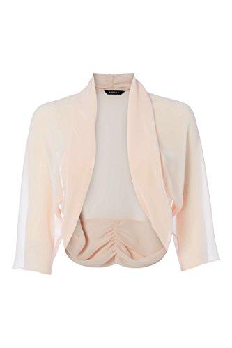 Veste Roman 4 Court L Originals Femme Manches Bolero 3 Transparent Semi Cardigan Gilet Aw6xArnPq4