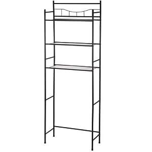 Mainstays 3-Shelf Bathroom Space Saver, Oil Rubbed Bronze