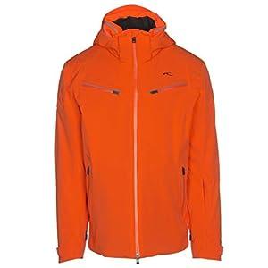 Kjus – Formular Hommes Manteau de Ski (Orange) – S (48)