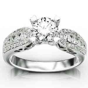 igi certified 1 1 4 carat designer channel set