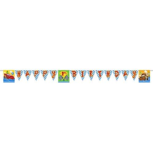 Disney/Pixar Cars 1st Birthday Champ Plastic Party Banner by -
