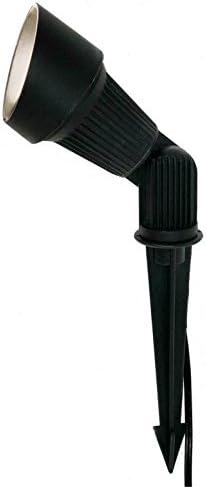 LED Landscape Lighting Fixture in Black BPL-104-BLK-5W