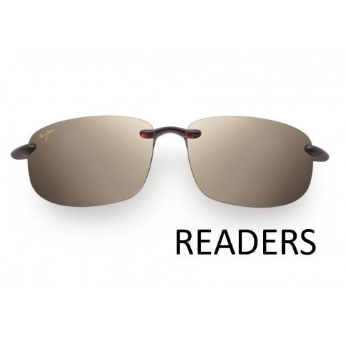 Maui Jim Hookipa Readers +2.50 ADD Tortoise Polarised H807-1025 Designer lunettes de soleil