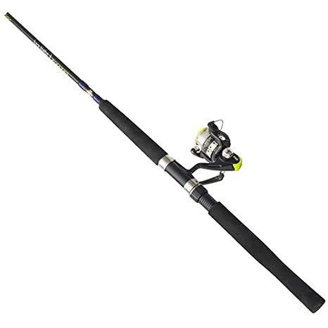 Zebco/Quantum CRFUL602LA NS4 Zebco/Quantum, Crappie Fighter Spinning Combo,  4 3: 1 Gear Ratio, 1 Bearing, 6' 2pc Rod, 4-8 lb Line Rate, Ambidextrous